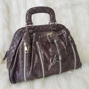 Nicole Lee Taupe Large Handbag Purse